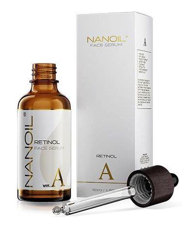 Nanoil Gesichtsserum mit Retinol, 50 ml