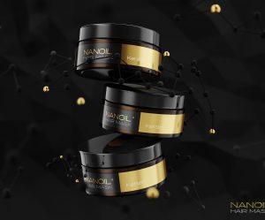 Maske mit Keratin für Haare Nanoil