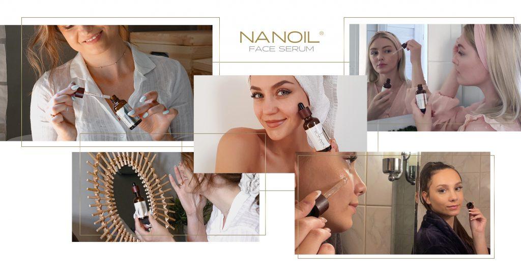 Gesichtsserum für die Haut mit Neigung zu Couperose gegen Reizungen Nanoil